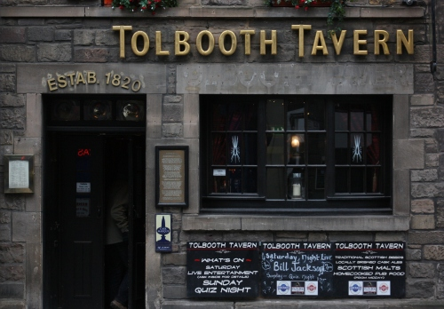 Tolbooth Tavern ~ along the Royal Mile Edinburgh