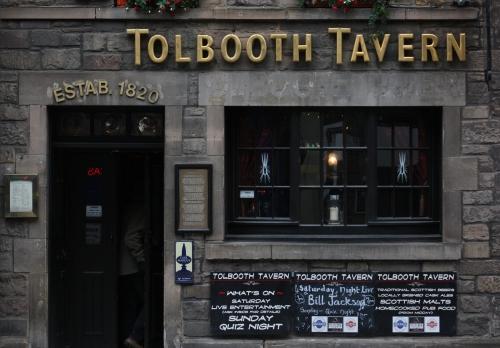 Tolbooth Tavern ~ along the Royal Mile Edinburgh