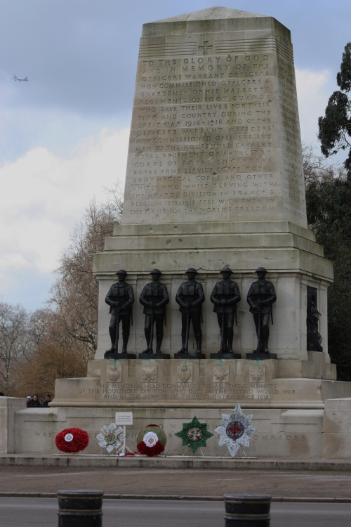 WWI Memorial across from the Horse Parade