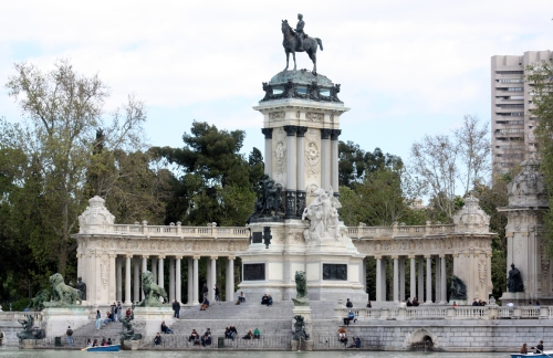 Alfonzo XXII Statue, Parque del Buen Retiro, Madrid