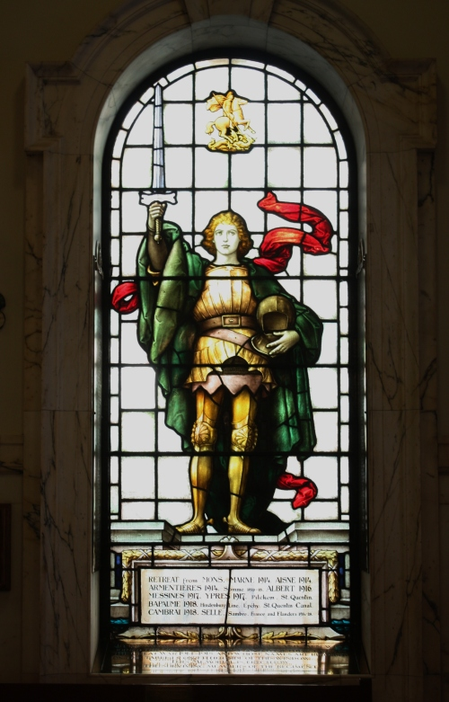 Stained Glass in City Hall, Belfast