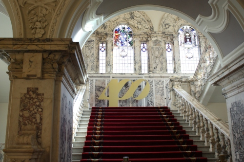 Staircase in Belfast City Hall