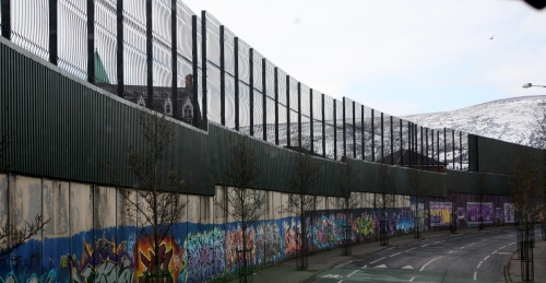 Peace Wall, West Belfast, Northern Ireland