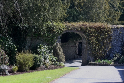 Stone Archway at Blarney Castle