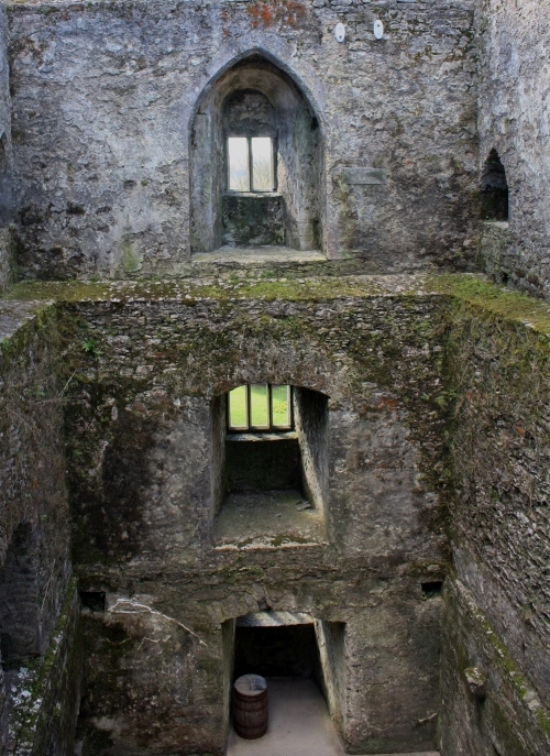 Inside of the Blarney Castle