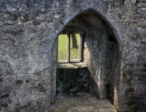 Window at Blarney Castle