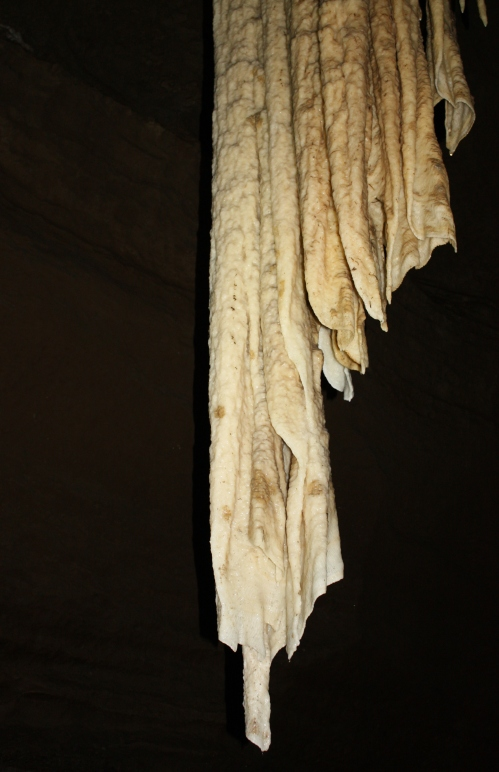 Great Stalactite (23.5 ft) in Doolin Cave