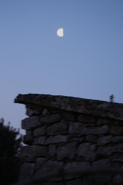 Half Moon over Doolin, Ireland