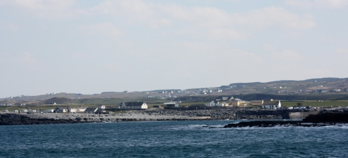 Pier in Doolin, County Clare, Ireland