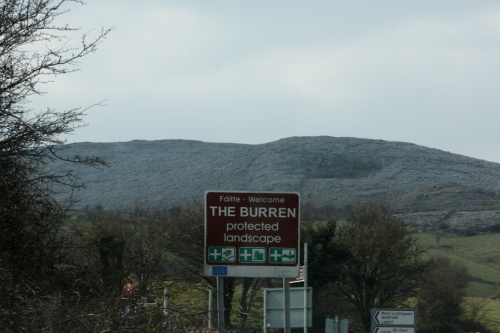 Entering The Burren, County Clare, Ireland
