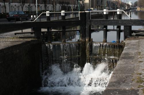 Canal Lock, Dublin Ireland