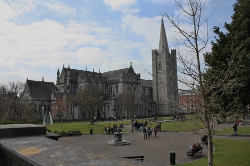 St Patrick's Cathedral, Dublin Ireland