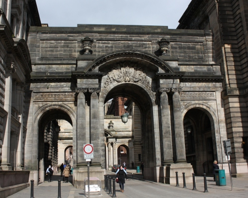 Archway to City Hall, Glasgow