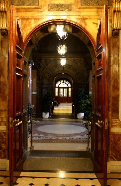 Doorway in City Hall, Glasgow