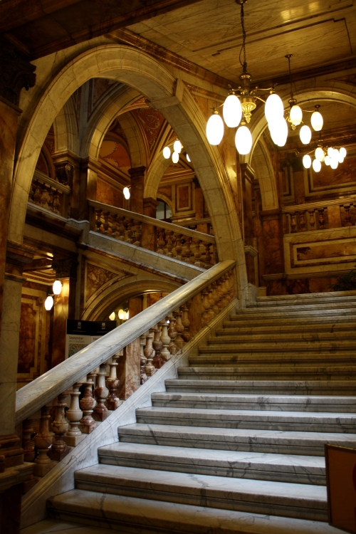 Marble Staircase in City Hall, Glasgow