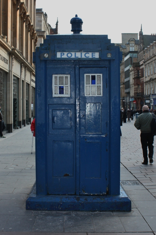 Glasgow Phone Booth ~ Dr.Who?