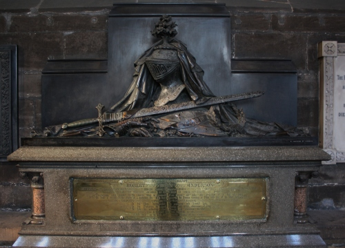 Example of a Memorial inside the Galsgow Cathedral