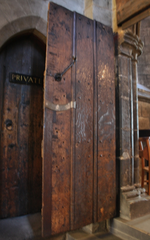 Original Door of the Glasgow Cathdral