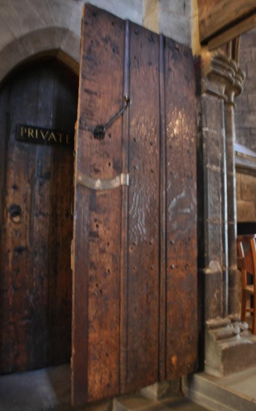 Original Door of the Glasgow Cathdral