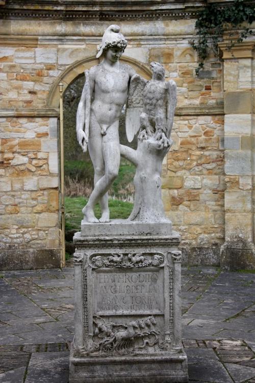 Hever Castle Garden Statue