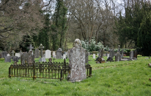 Graveyard outside of Hever Castle