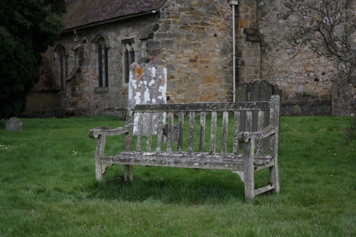 Outside Hever Castle ~ Bench