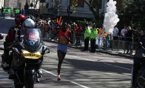 Priscah Jeptoo of Kenya ~ Women's Elite Winner of the London Marathon 2013