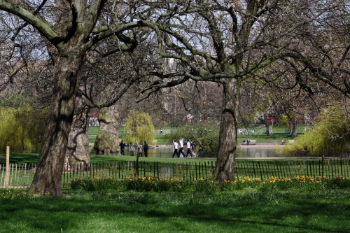 St James Park, A Restful Spot during the Marathon