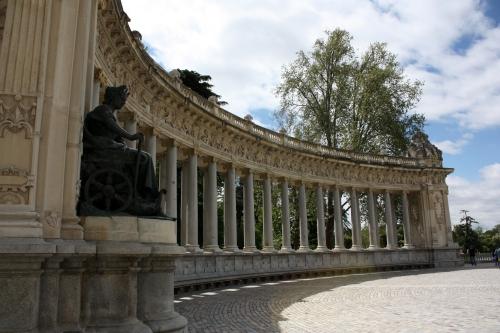 Columns near the Alfonzo XXII statue, Parque del Buen Retiro, Madrid
