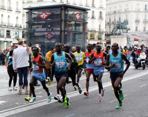 Elite Men, Madrid Marathon