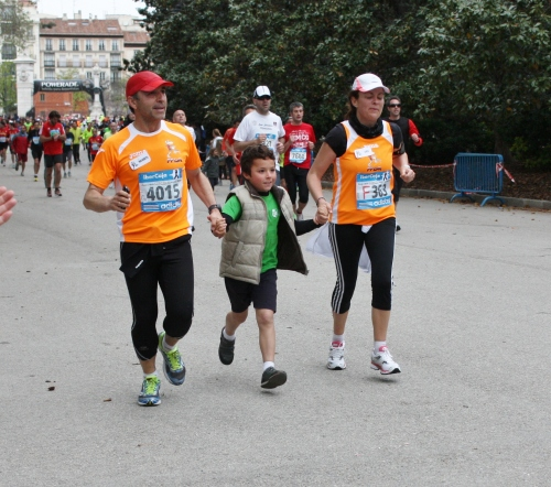 Helping Mom and Dad to the Finish Line