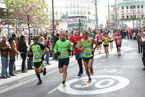Madrid Marathon at the 18K