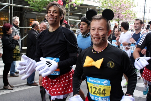 Two Minnies, Madrid Marathon