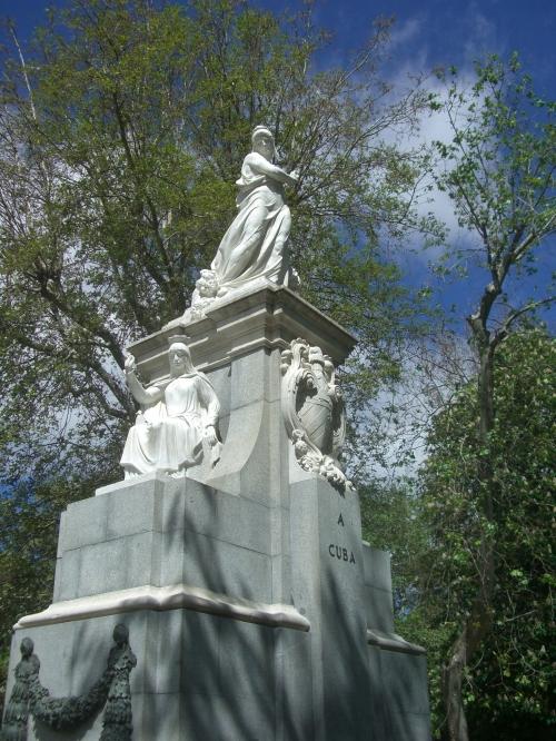 Cuba Monument, Parque del Buen Retiro, Madrid