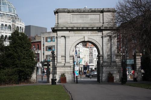 Fusillier's Arch, St Stephen's Green, Dublin, Ireland