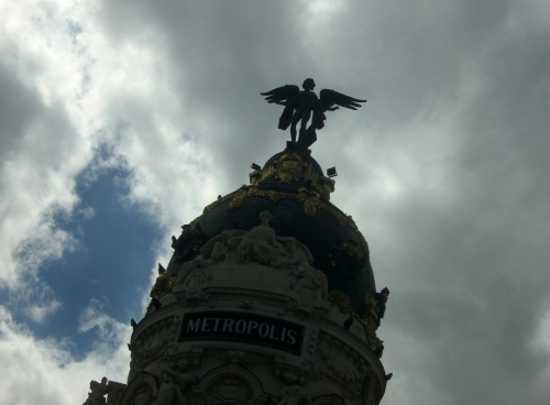 Dark clouds over Madrid