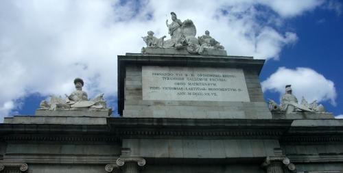 Fernando Arch Fernando VII, Madrid