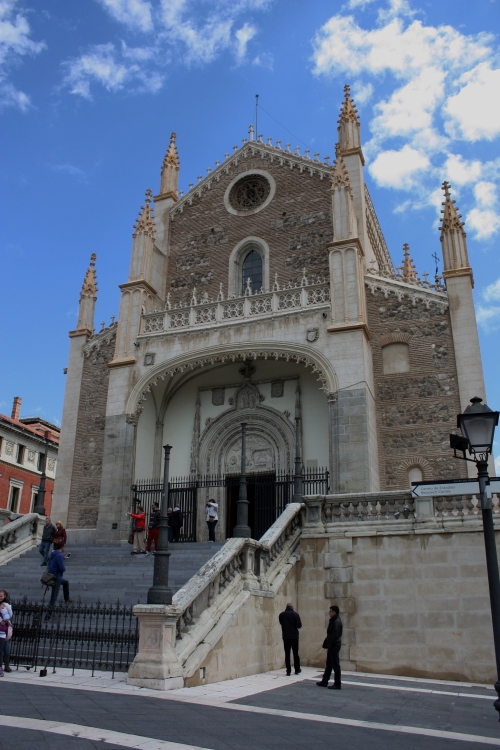 Iglesia de San  Jerónimo , across from The Prado, Madrid