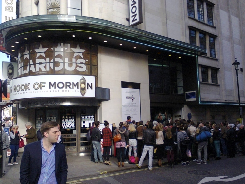 Book Of Mormon in London