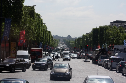 Champs Elysee, Paris, France
