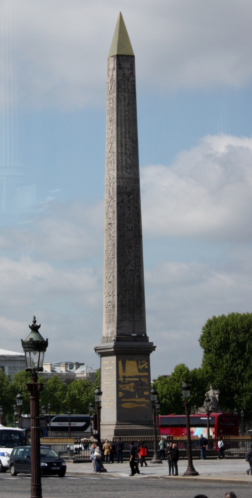 3,300 year old Obelisk of Luxor, Place du Concorde