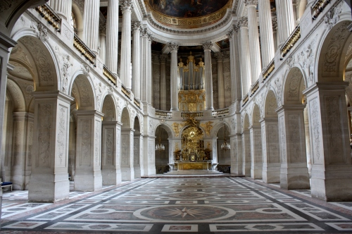 Chapel at Palace of Versailles, France