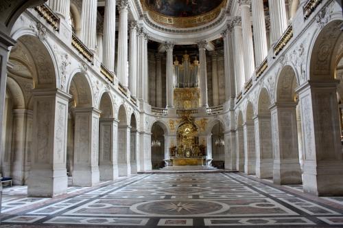 Chapel at Palace of Versailles, France