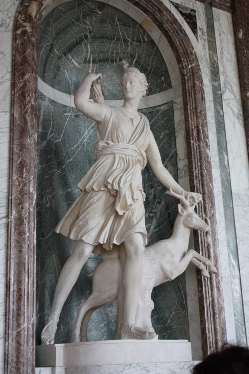 Statue of Artemis (Diana), Palace of Versailles