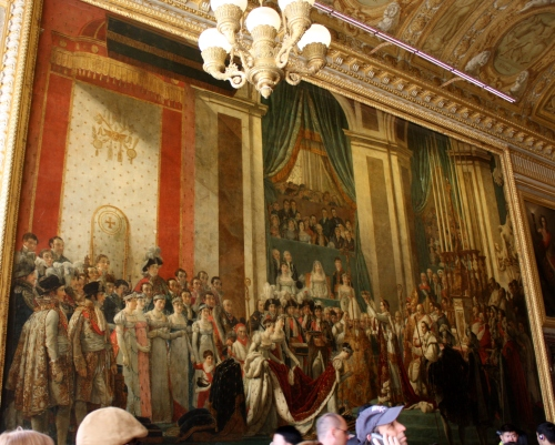 Coronation Painting at the Palace of Versailles