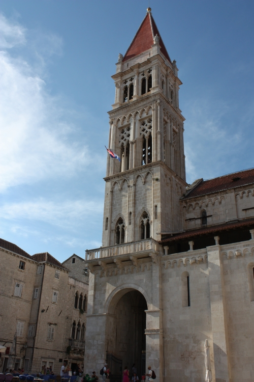 St Lawrence Cathedral Bell Tower, Island of Trogir, Croatia