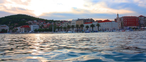Early Morning, Split, Croatia