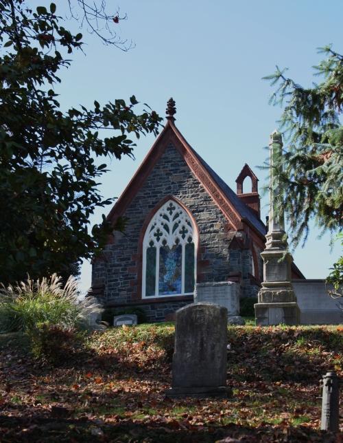 Oak Hill Chapel designed by James Renwick.