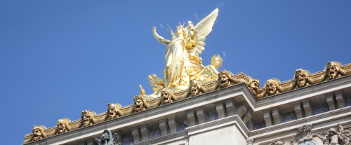 An Angel overlooking Paris