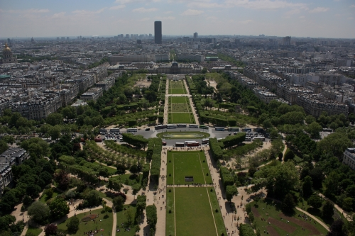 Another view from the Eiffel Tower